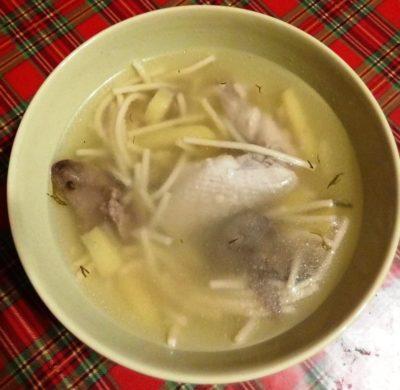 куриный суп с вермишелью 5
