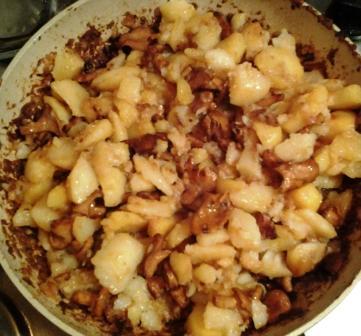 жареная картошка с грибами рецепт 6