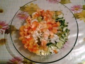витаминный салат из капусты фото 1