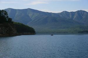 замерзшее озеро байкал 2