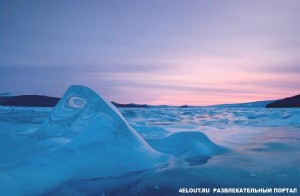 замерзшее озеро байкал 6