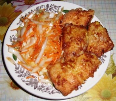 вкусная жареная рыба 5