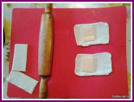 слойки с сыром из готового теста 3