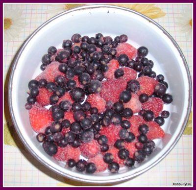 ягоды протертые с сахаром 2