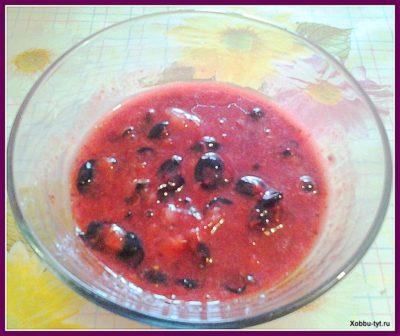 ягоды протертые с сахаром 5