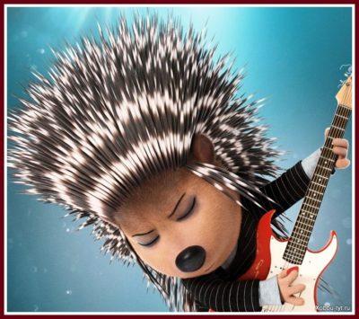 горилла Джонни, который предпочел не идти путем преступности, как его отец, а найти себя в музыке. 6