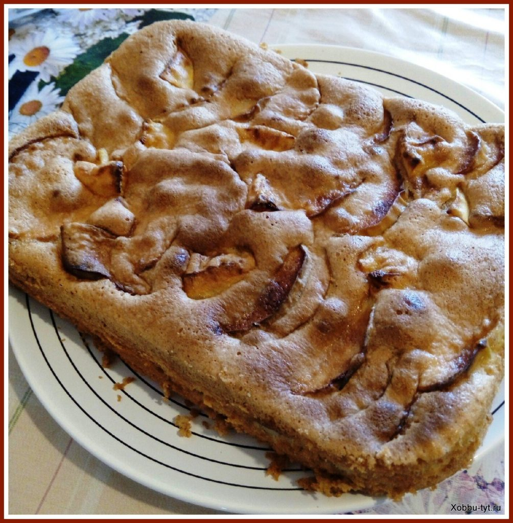 Шарлотка с яблоками рецепт пп пошагово в духовке