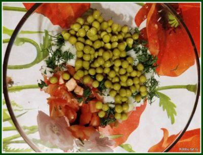 салат со свеклой и помидором 5