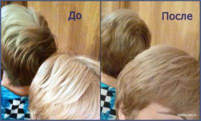 белорусская краска для волос 8